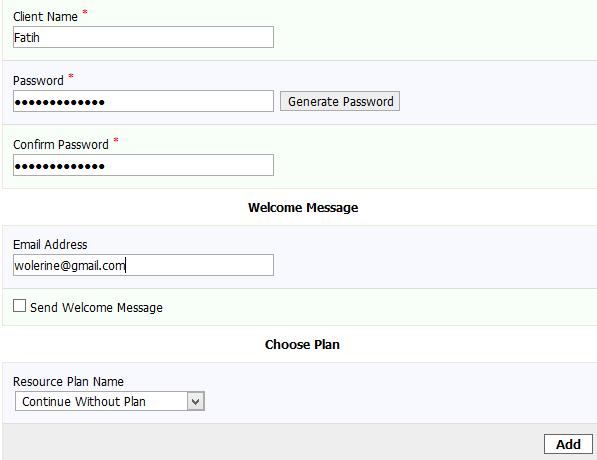 Kloxo-MR Add User