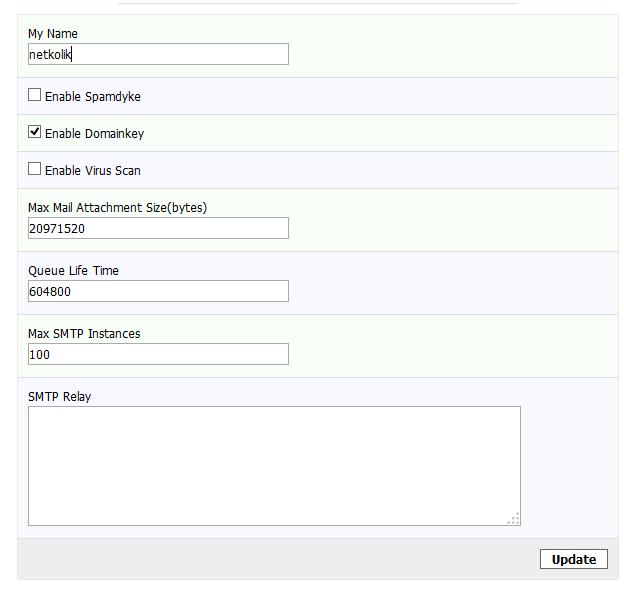 Kloxo-MR Mail Server