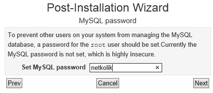 Virtualmin MySQL Password