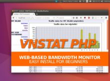 vnStat PHP Front End