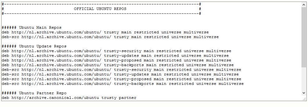 Ubuntu Created Repos