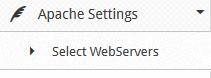 CWP Select Webserver