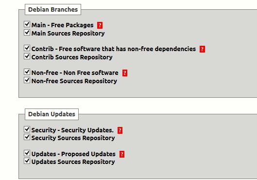 Debian Repository Updates