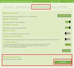 Simple DNSCrypt Remove Service